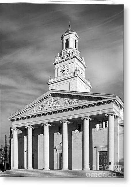 American Photographs Greeting Cards - University of Redlands Memorial Chapel Greeting Card by University Icons