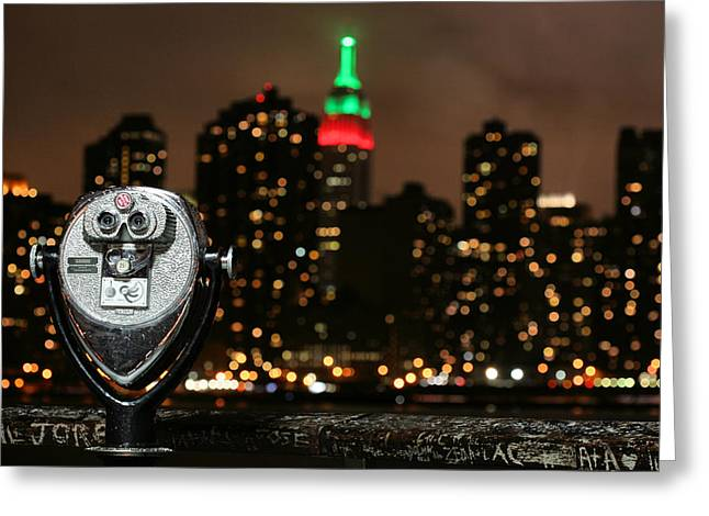 Gotham City Greeting Cards - Unmistakable  Greeting Card by JC Findley