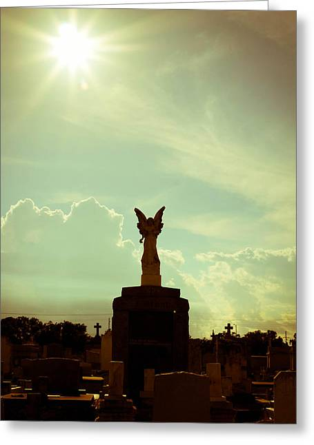 Metairie Cemetery Greeting Cards - Unnamed Greeting Card by Miriam Tiritilli