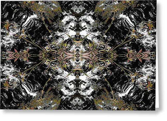 Psychedelic Photographs Greeting Cards - Unnatural 37 Greeting Card by Giovanni Cafagna