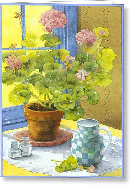 """indoor"" Still Life Greeting Cards - Untitled Greeting Card by Julia Rowntree"