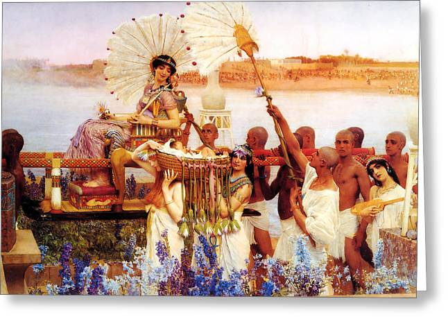 Antique Greeting Cards - Untitled Greeting Card by Lawrence Alma-Tadema