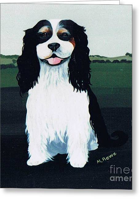 Spaniel Greeting Cards - Untitled Greeting Card by Maggie Rowe