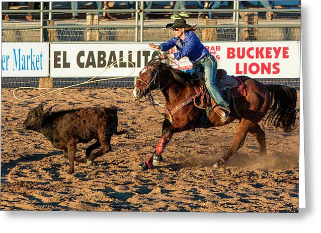 Usa, Arizona, Buckeye, Hellzapoppin Greeting Card by Jaynes Gallery