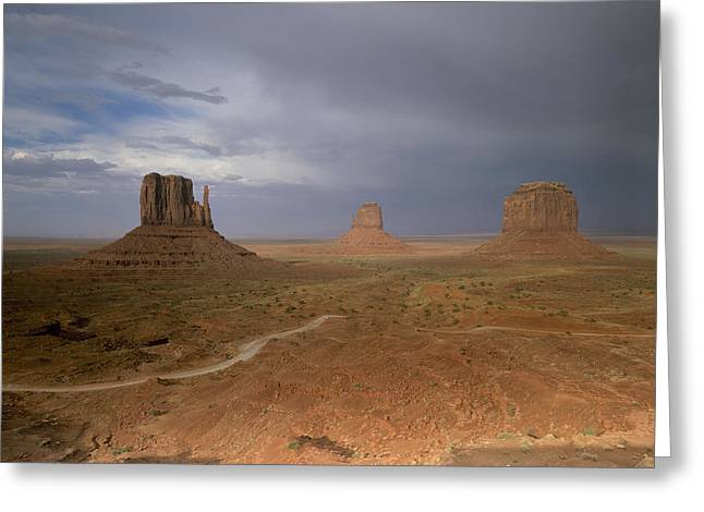 Usa, Arizona, Monument Valley, The Greeting Card by Tips Images