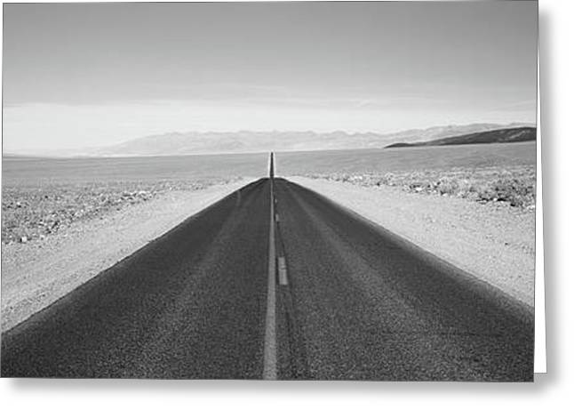 Usa, California, Death Valley, Empty Greeting Card by Panoramic Images