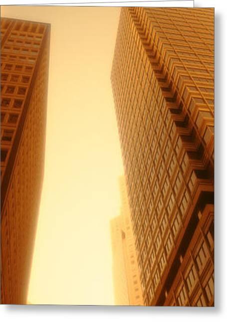 Downtown San Francisco Greeting Cards - Usa, California, San Francisco Greeting Card by Panoramic Images