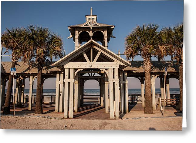 Usa, Florida, New Smyrna Beach Greeting Card by Lisa S. Engelbrecht