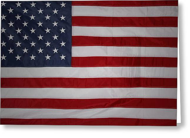 USA Greeting Card by Les Cunliffe