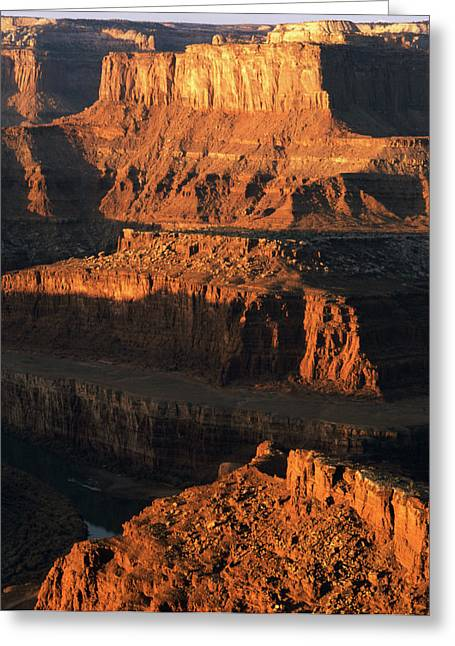 Usa, Utah, Moab, Dead Horse Point State Greeting Card by Walter Bibikow