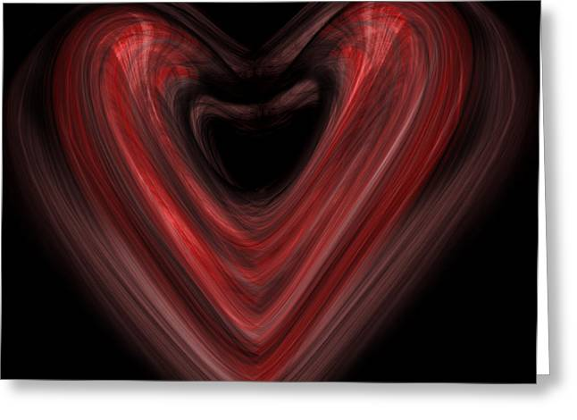 Valentine Greeting Card by Christopher Gaston