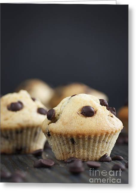 Mythja Greeting Cards - Vanilla muffins Greeting Card by Mythja  Photography