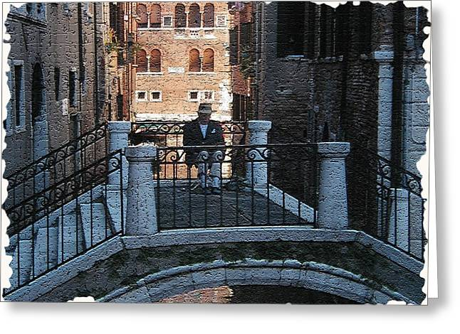 Venice - Italy Greeting Cards - Venice 5 Greeting Card by Rebecca Cozart