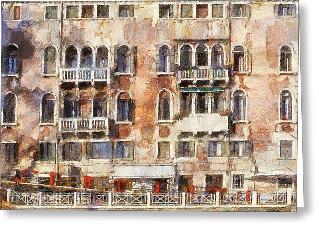 Venice Tour Greeting Cards - Venice Architecture Greeting Card by Yury Malkov