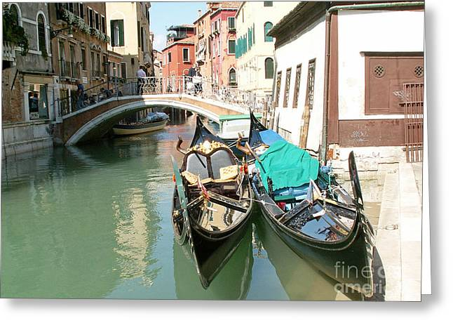 Sea View Greeting Cards - Venice Greeting Card by Evgeny Pisarev
