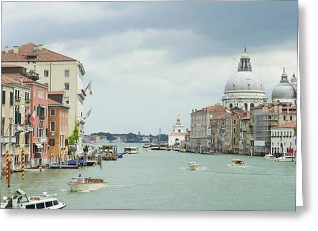 Italian Sunset Greeting Cards - Venice Italy Greeting Card by Hans Engbers