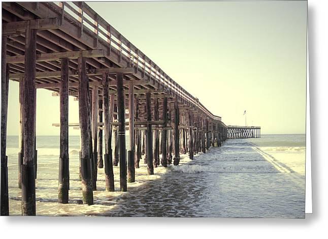 Ventura Pier Greeting Cards - Ventura Pier  Greeting Card by Bree Madden