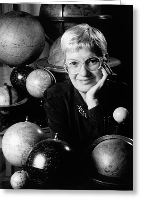 Vera Rubin Greeting Card by Emilio Segre Visual Archives/american Institute Of Physics