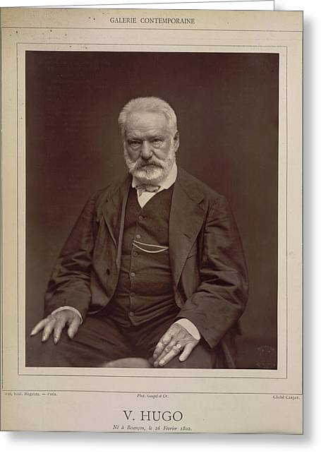 Victor Hugo Greeting Card by British Library