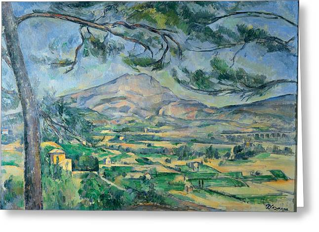 Victorie Greeting Card by Paul  Cezanne