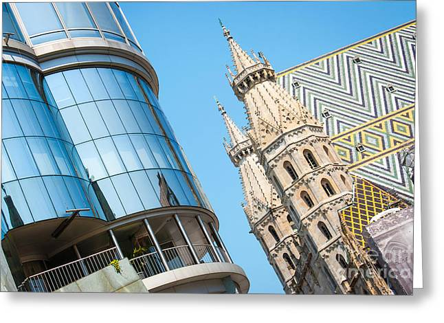 Haus Greeting Cards - Vienna Greeting Card by JR Photography