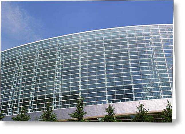 Tulsa Oklahoma. Architecture Greeting Cards - View Of The Bok Center, Tulsa Greeting Card by Panoramic Images