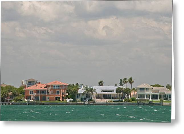 St Petersburg Florida Greeting Cards - View Toward Cabbage Key From St Greeting Card by Panoramic Images