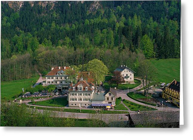Small Towns Greeting Cards - Village Of Hohen-schwangau, Bavaria Greeting Card by Panoramic Images
