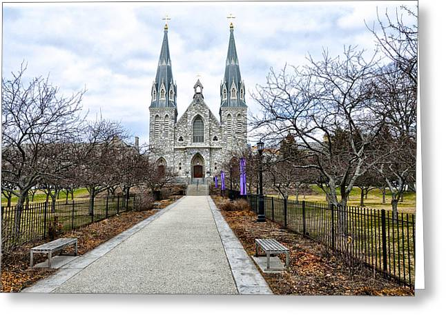 Radnor Greeting Cards - Villanova University Greeting Card by Bill Cannon