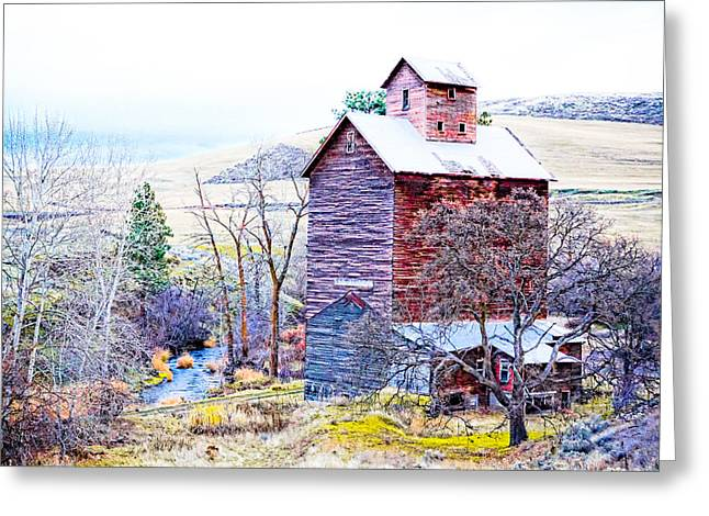 Kinkade Greeting Cards - Vintage Barn Greeting Card by Steve McKinzie