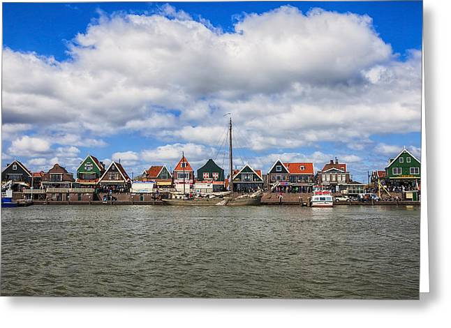 Volendam Greeting Card by Joana Kruse
