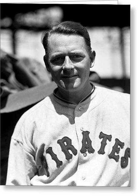 Pirates Greeting Cards - Waite C. Hoyt Greeting Card by Retro Images Archive