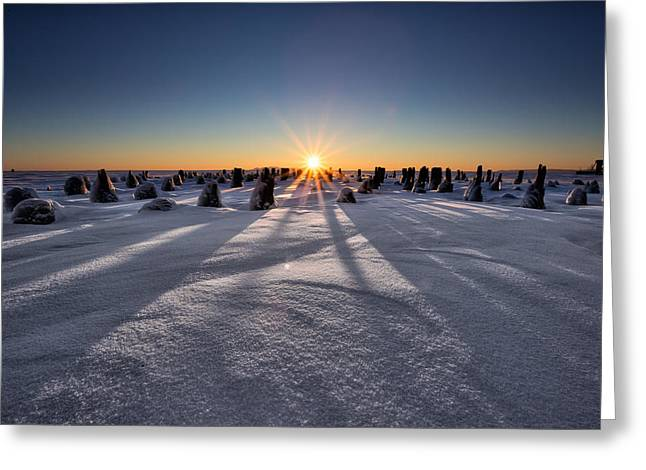 Canon Eos 6d Greeting Cards - Waking Of The Giant Greeting Card by Jakub Sisak