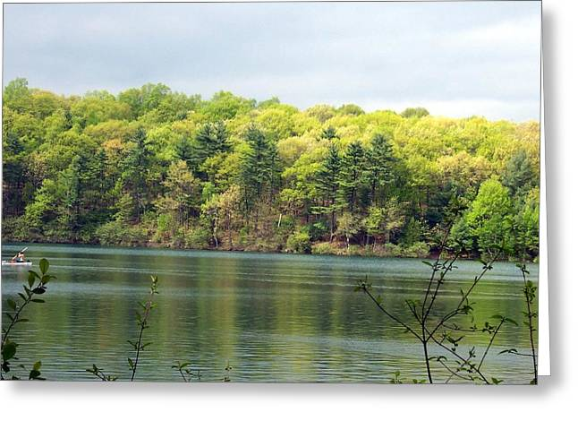 Walden Pond Greeting Cards - Walden Pond Greeting Card by Catherine Gagne