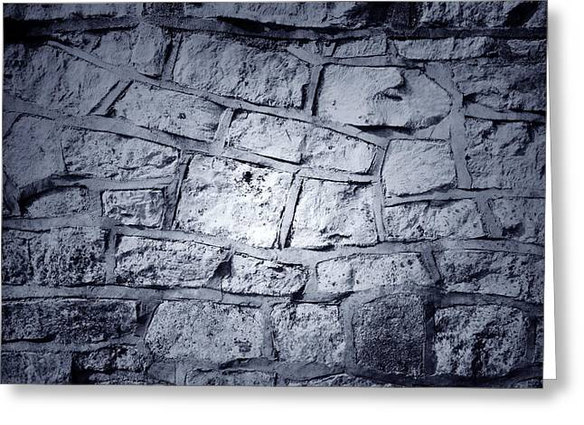 Stonewall Greeting Cards - Wall Greeting Card by Les Cunliffe