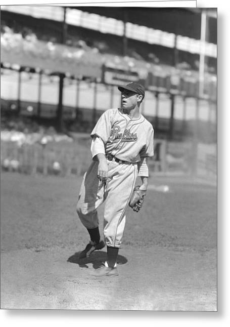 Phillies Greeting Cards - Walter K. Kirby Higbe Greeting Card by Retro Images Archive