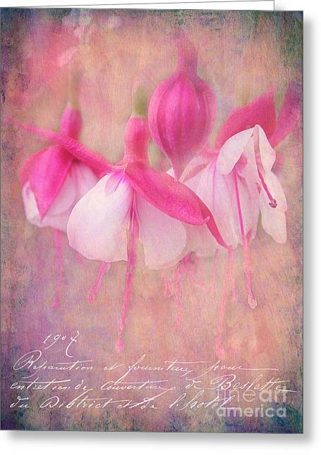 Judi Bagwell Greeting Cards - Waltz of the Flowers Greeting Card by Judi Bagwell
