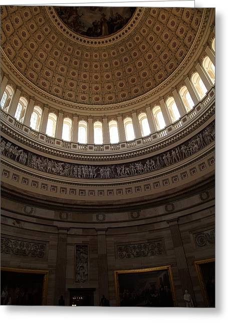 Congress Greeting Cards - Washington DC - US Capitol - 011310 Greeting Card by DC Photographer