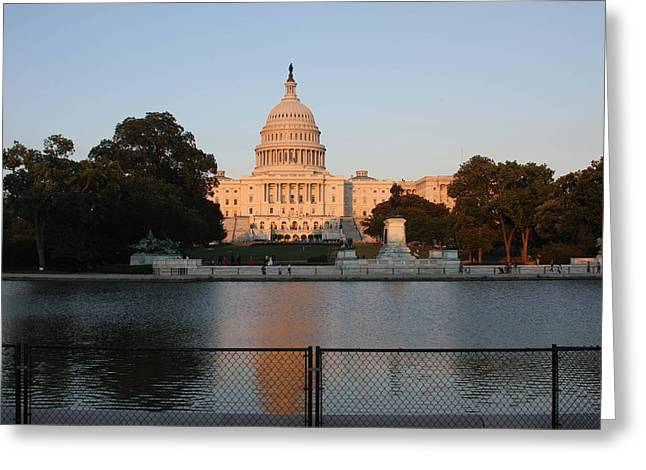 Congress Greeting Cards - Washington DC - US Capitol - 011311 Greeting Card by DC Photographer