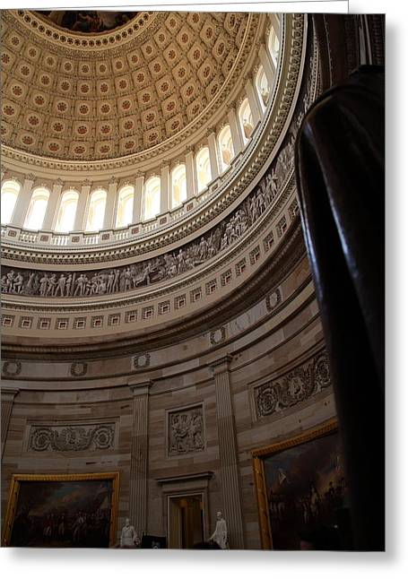 Congress Greeting Cards - Washington DC - US Capitol - 011312 Greeting Card by DC Photographer