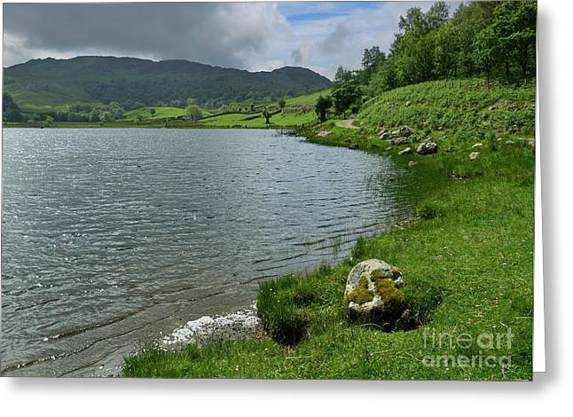 Trout Fishing Greeting Cards - Watendlath Tarn in the Lake District Cumbria Greeting Card by Louise Heusinkveld