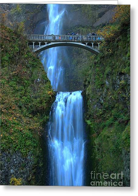 A River In Autumn Greeting Cards - Water Under The Bridge Greeting Card by Adam Jewell