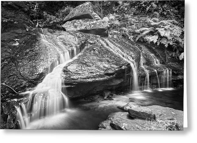 Scenic Waterfall Greeting Cards - Waterfall 04 Greeting Card by Colin and Linda McKie