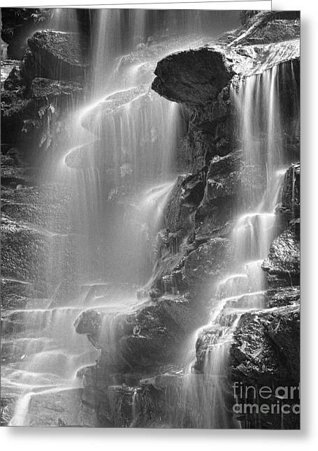 Scenic Waterfall Greeting Cards - Waterfall 05 Greeting Card by Colin and Linda McKie