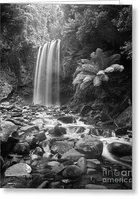 Waterfall 09 Greeting Card by Colin and Linda McKie