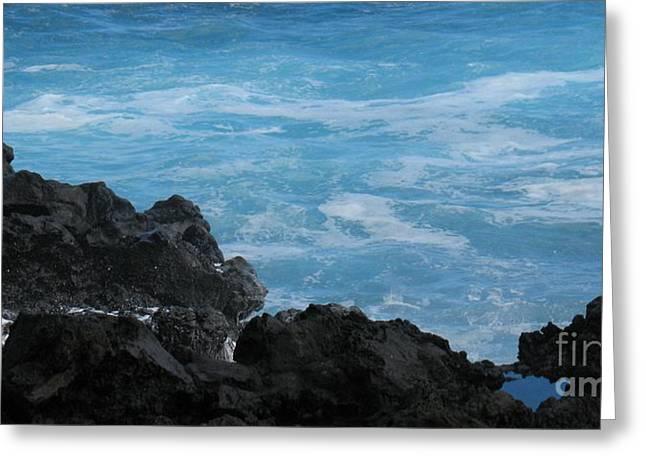 La Vague Greeting Cards - Wave - Vague - Ile De La Reunion - Reunion Island Greeting Card by Francoise Leandre
