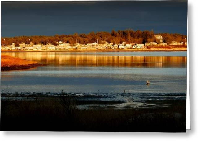 Storm Clouds Cape Cod Greeting Cards - Weather  Greeting Card by Marysue Ryan