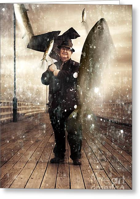 Wonderment Greeting Cards - Weather Of Abundance Greeting Card by Ryan Jorgensen
