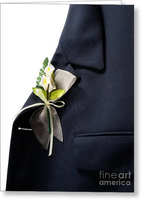 Tuxedo Greeting Cards - Wedding decoration Greeting Card by Sinisa Botas