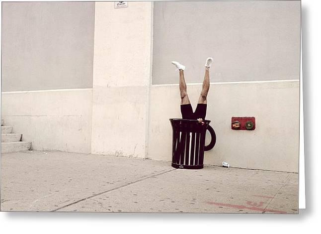Dumbo Greeting Cards - Welcome to Brooklyn Greeting Card by Natasha Marco